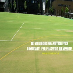 Artificial Football Pitch Consultants in Aber-Gi 2