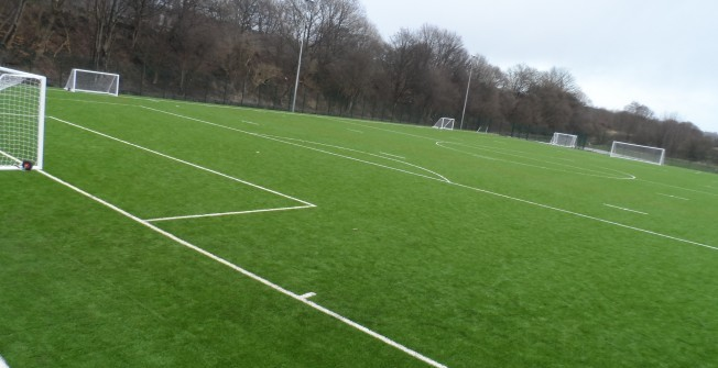 Football Pitches Consultancy in Ash Vale