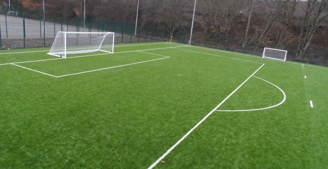 Football Pitch Consultants in Abercegir