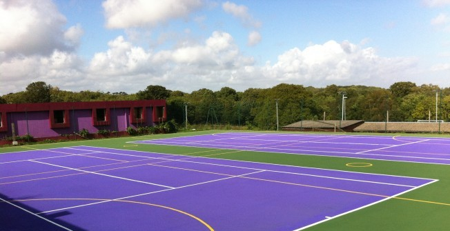 Tennis Court Consultants in Adlington